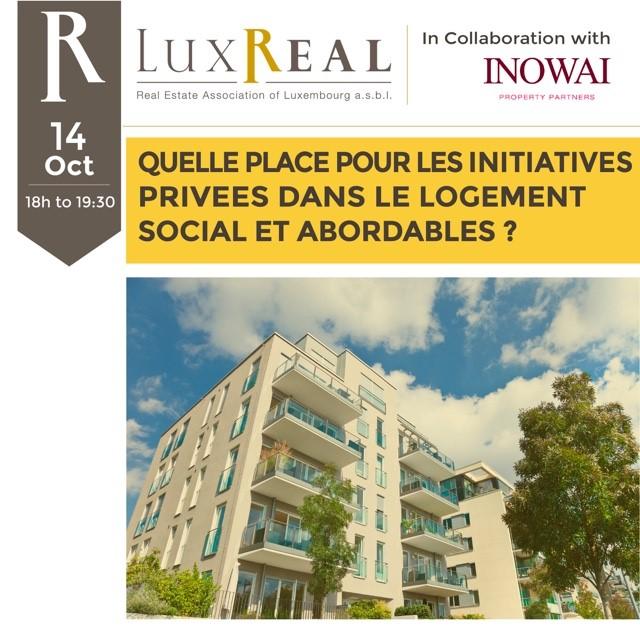 Image de Conférence : Quelle place pour les initiatives privées dans le logement social et abordable ?
